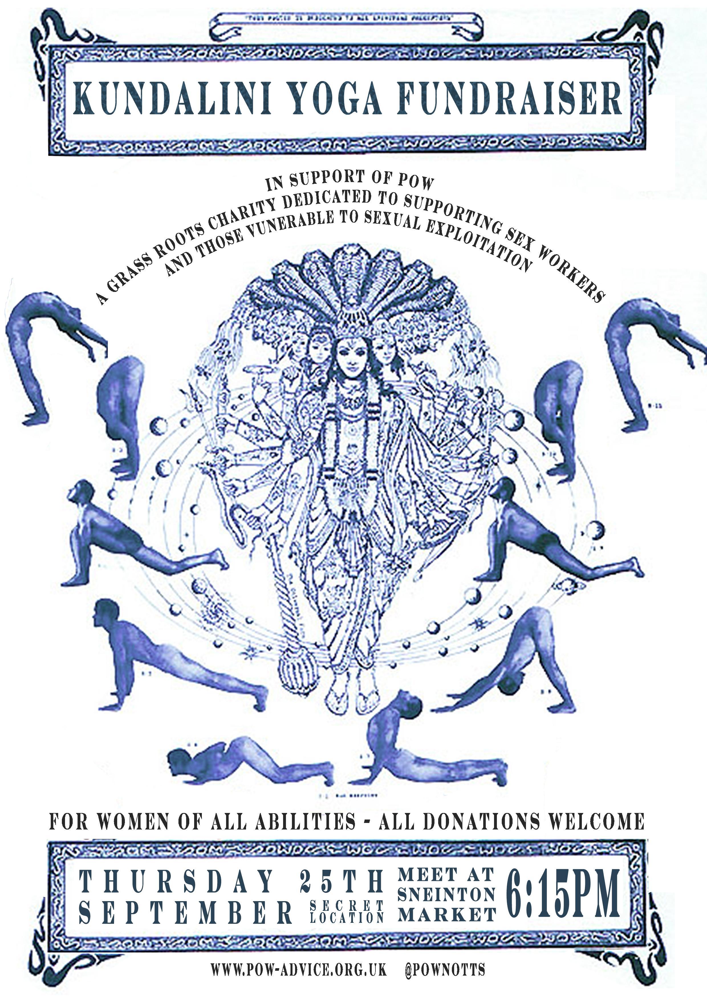 POW and Kundalini Calm Yoga Fundraiser